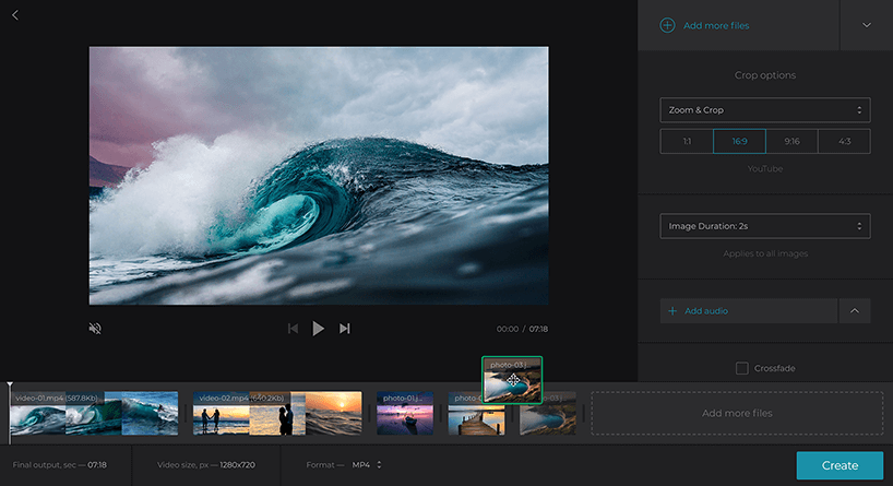Merge Video Online — Combine Video Clips — Free Video Joiner