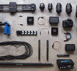 Video shooting equipment checklist