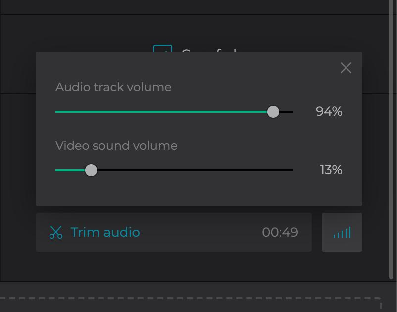 Add audio to slideshow on Mac