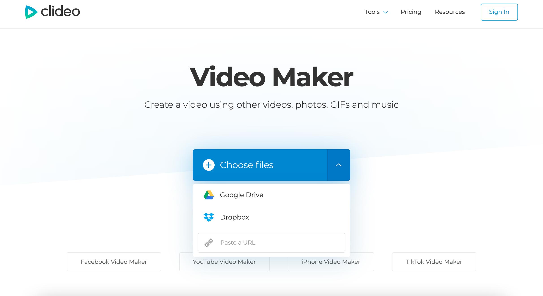 Add clips to make movie