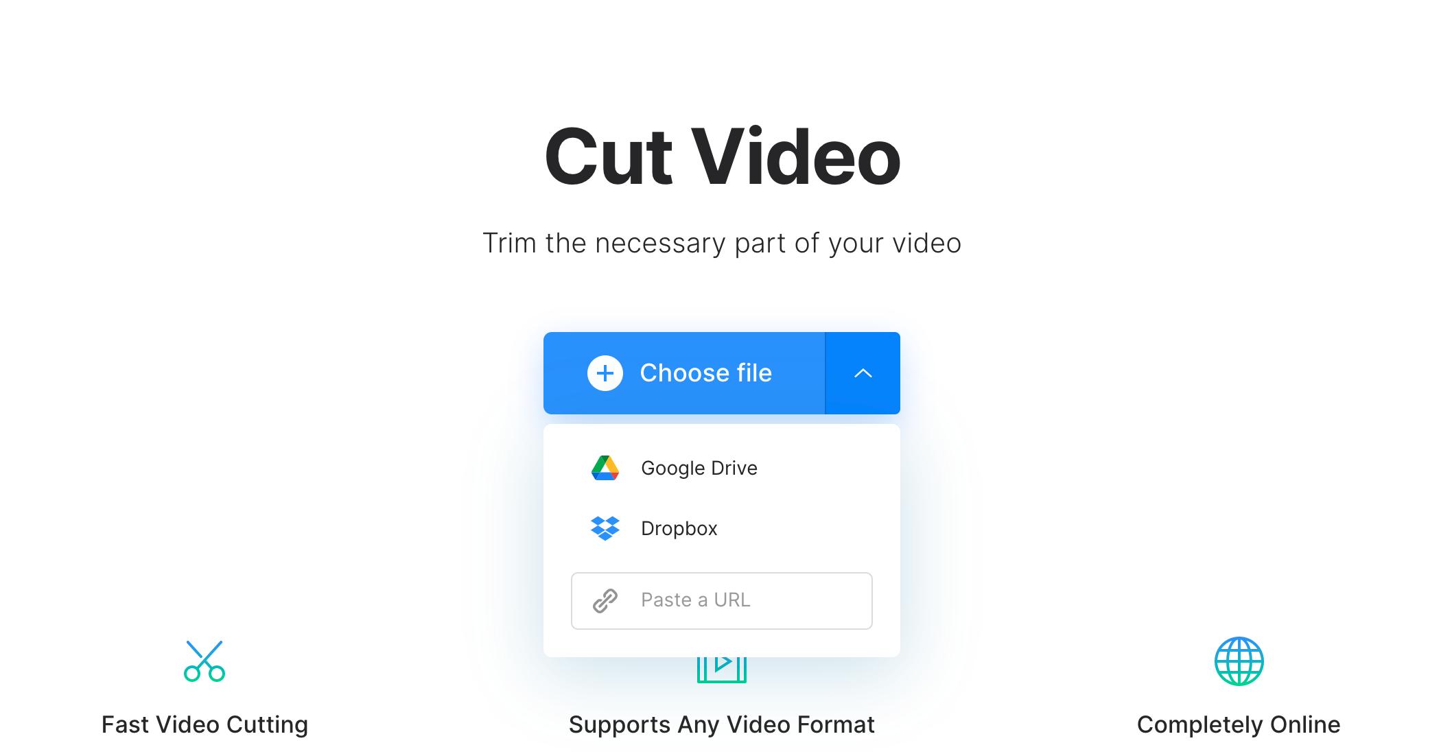 Upload Facebook video to trim