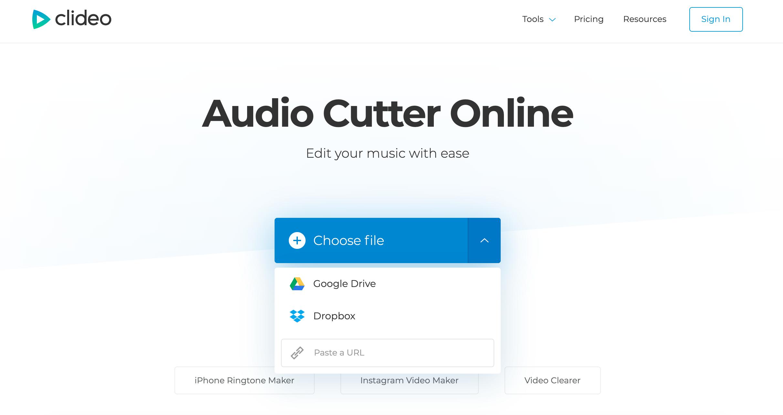 Upload MKV to extract audio track