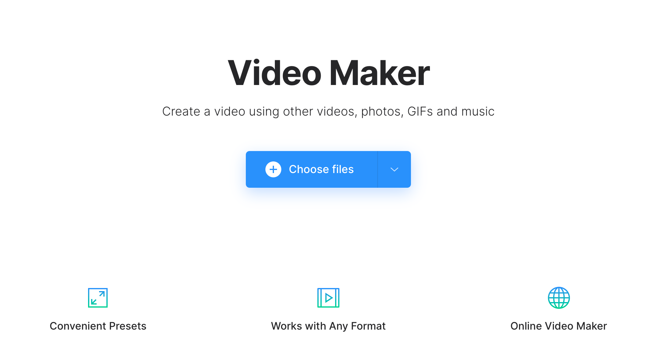 Upload image to add song to YouTube