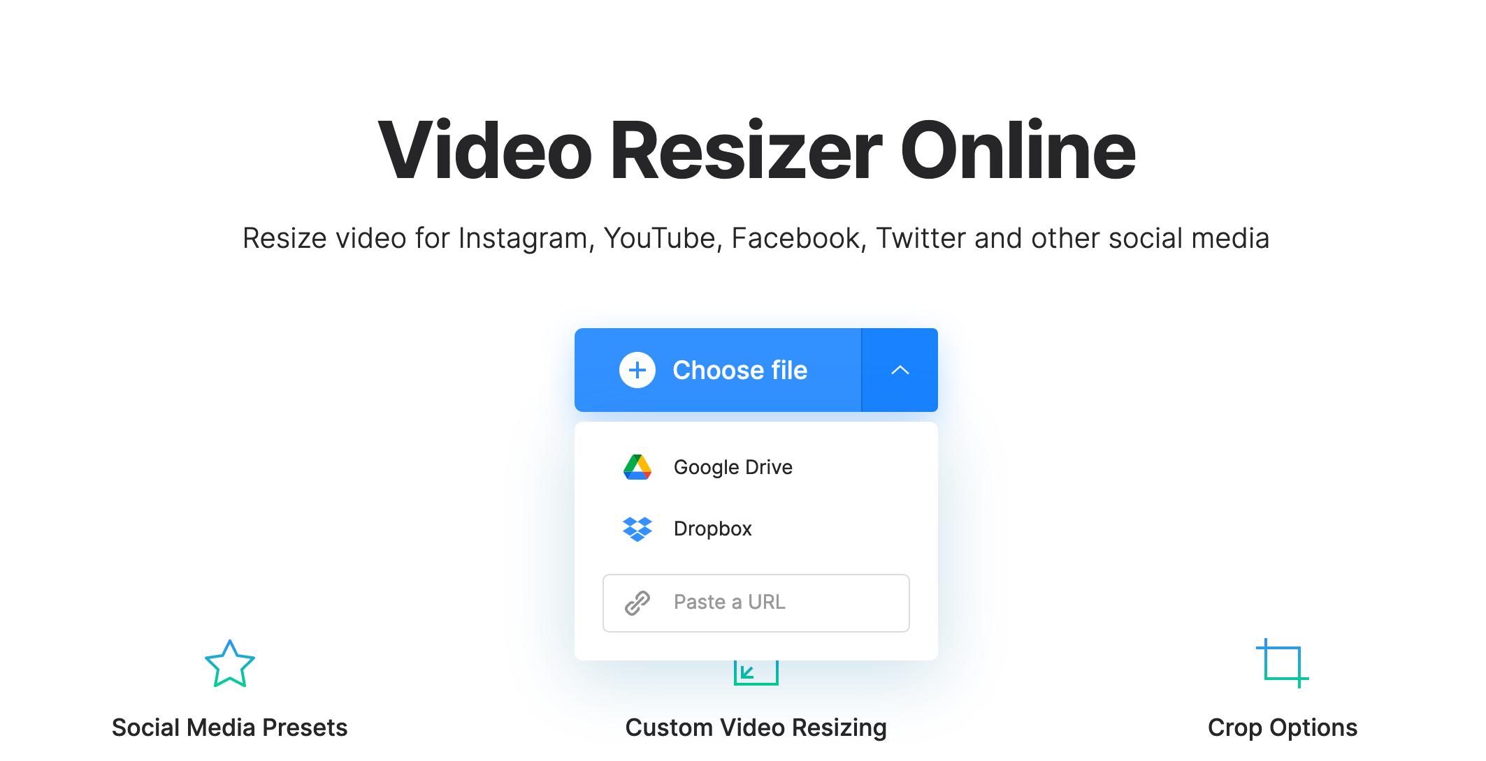 Upload screenshot to crop on Mac