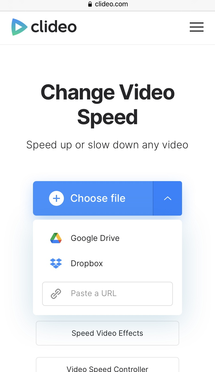 Upload TikTok video to slow down
