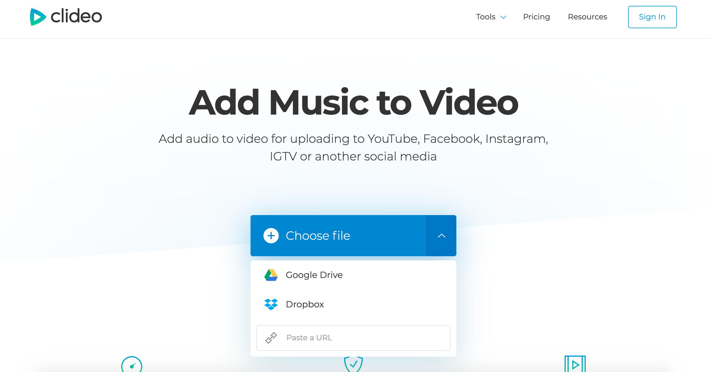 Upload a Triller video
