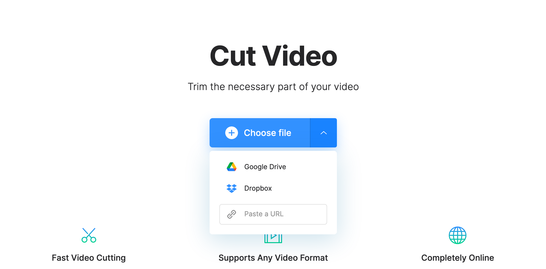 Upload Twitter video to convert to MP4