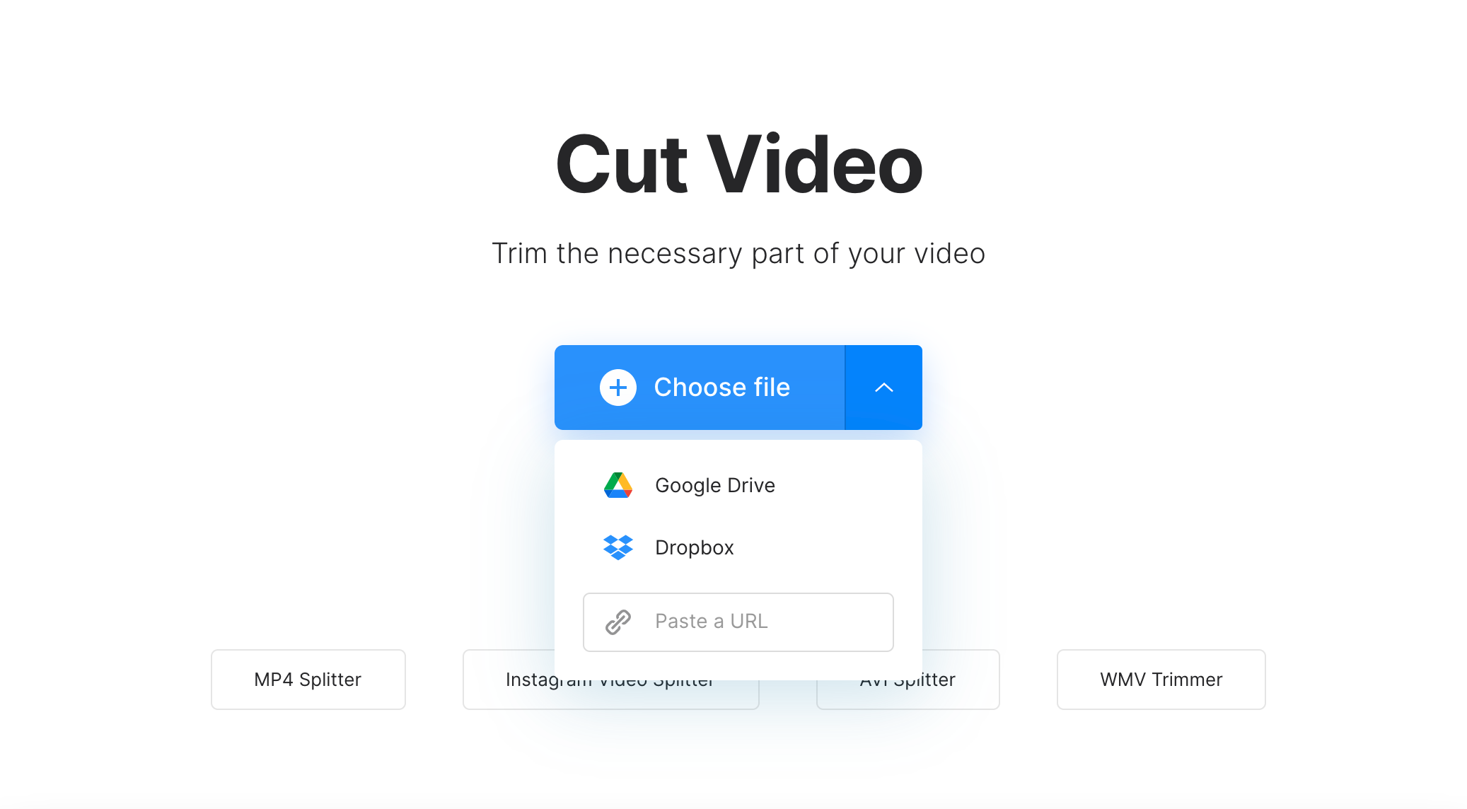 Add video to change to Instagram length