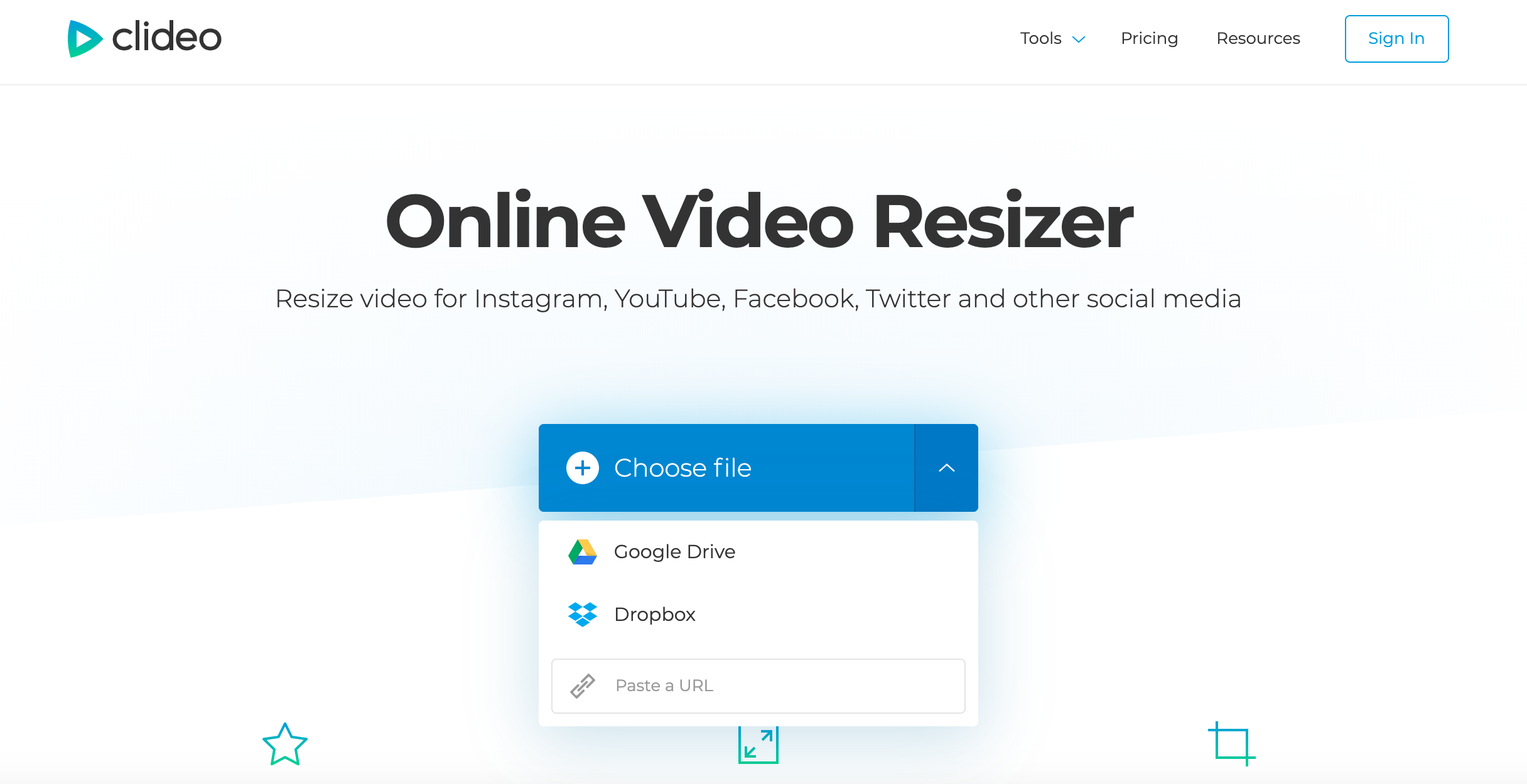 Add video to make it fit a Facebook size