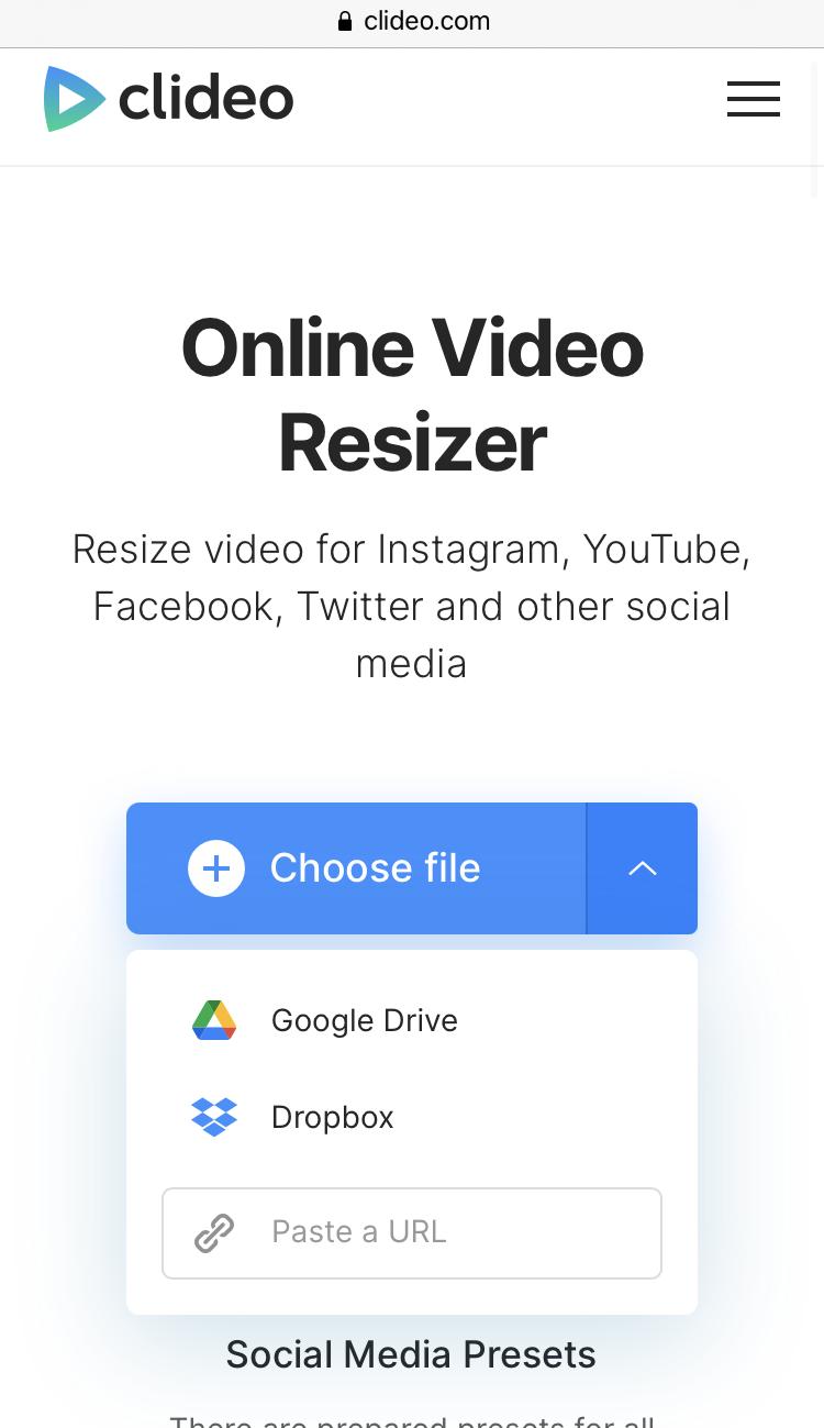 Upload video to make reels on Instagram