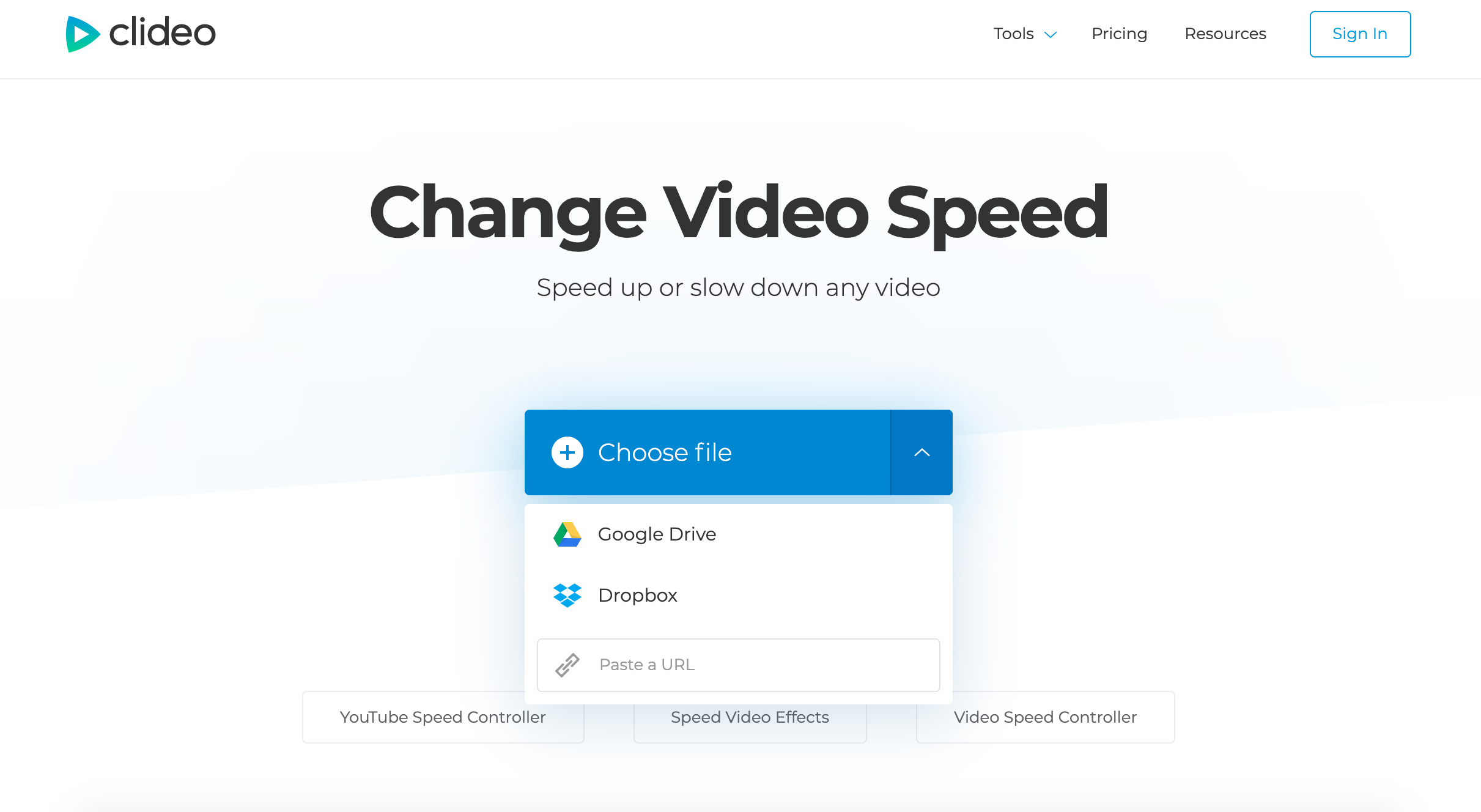 Upload video to make slow motion on iPhone 5