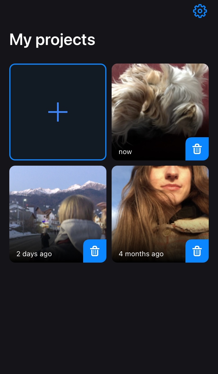 Upload video to reduce size on iPhone