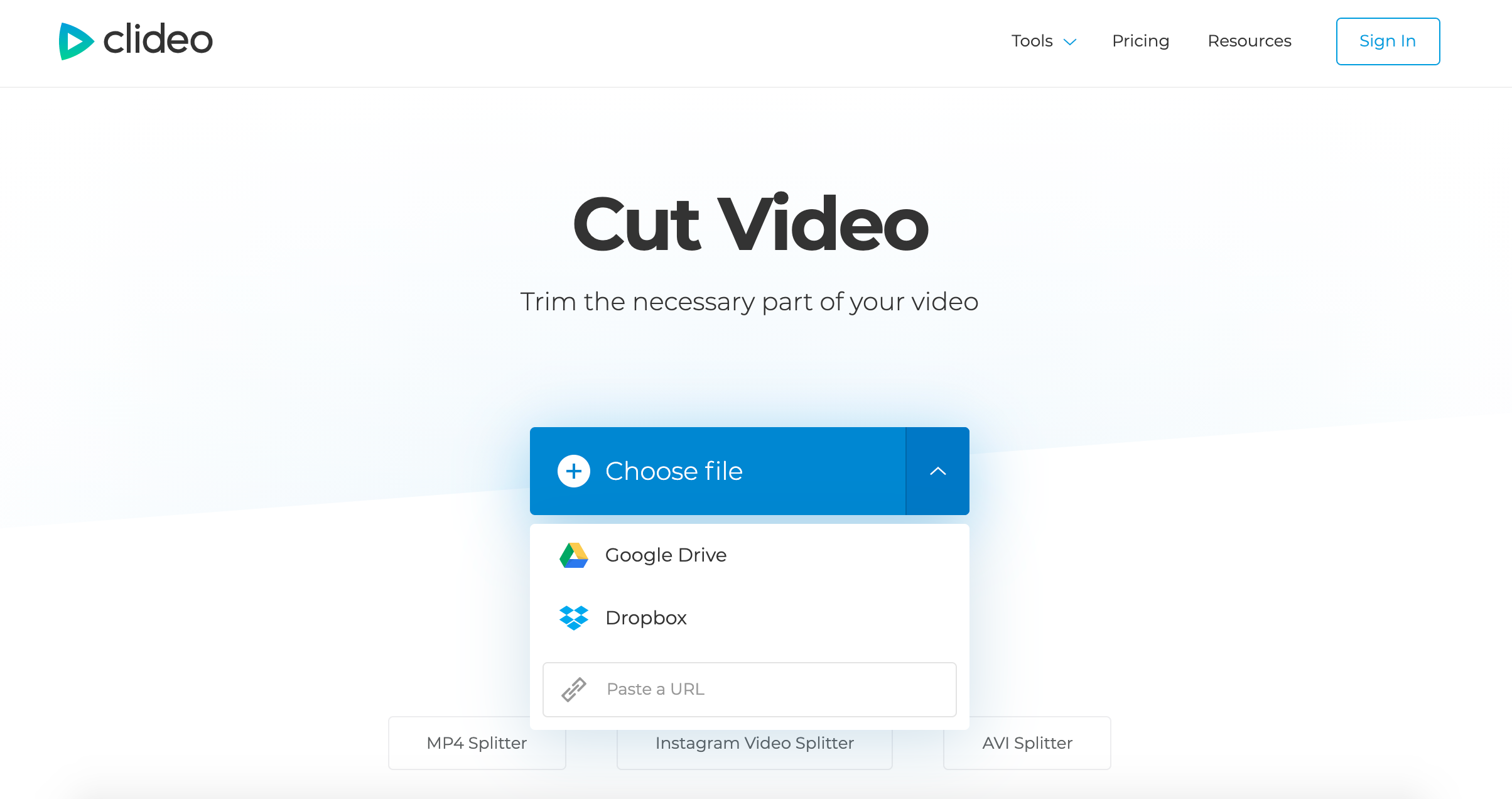 Upload Vimeo video to download in MP4