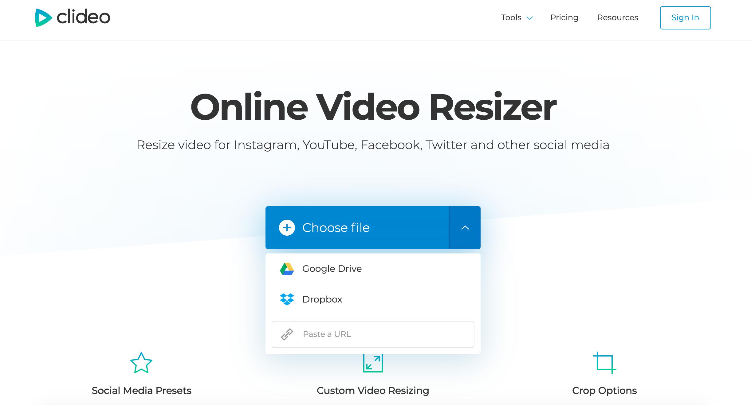 Upload Vimeo video to add to Instagram