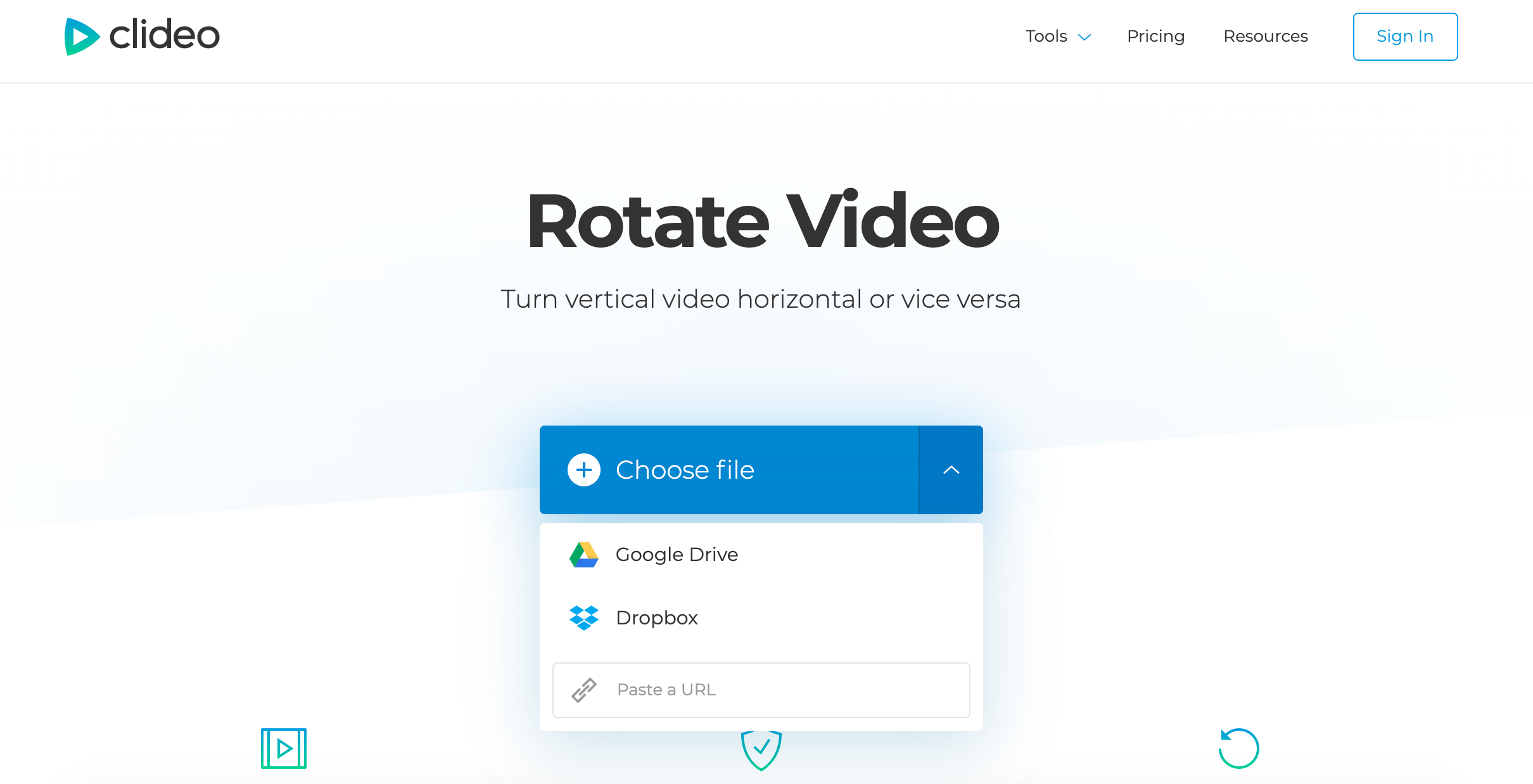 Add video to rotate on Windows