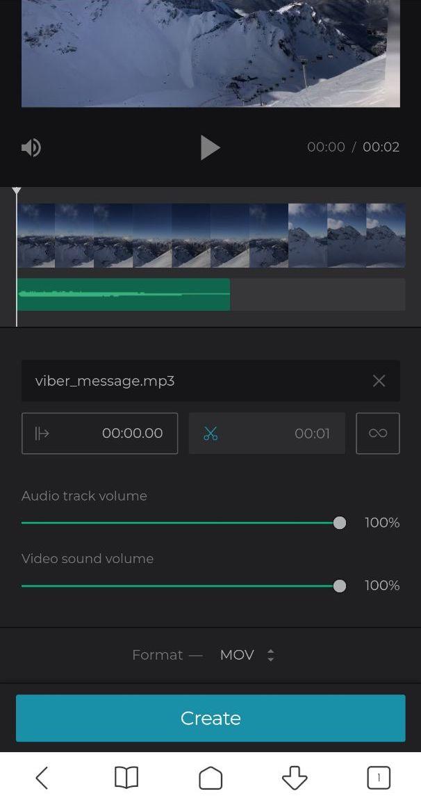 Adjust audio and video volume on Android
