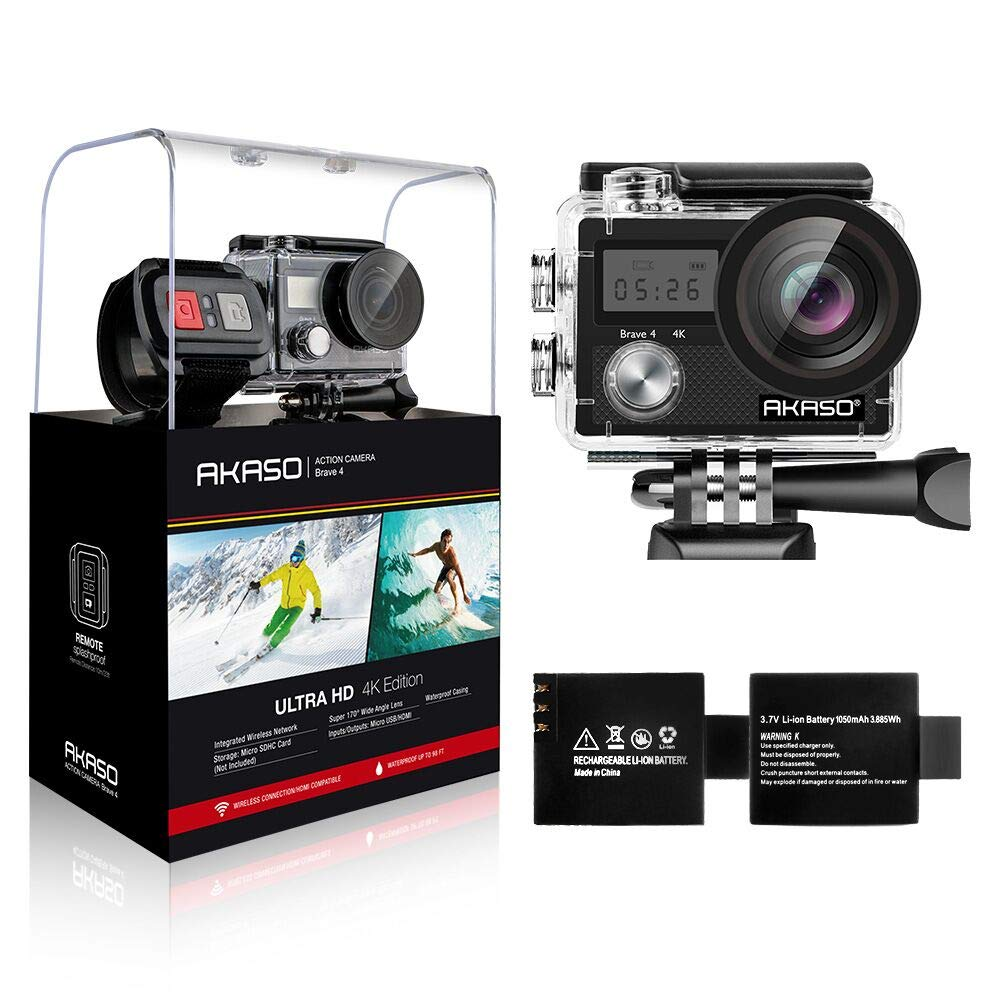 Akaso Brave 4 is well-packed camera and good GoPro alternative
