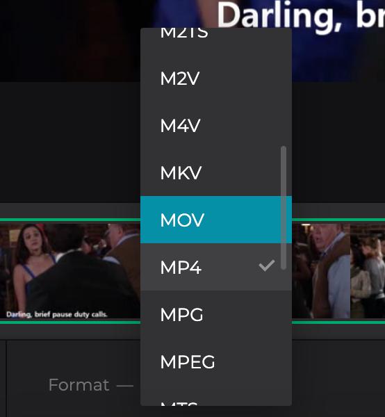 Change format for Reddit video download