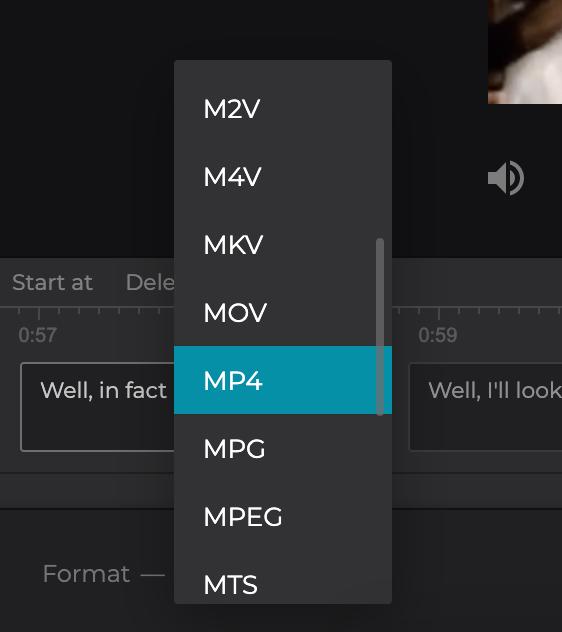 Change format of MKV with subtitles