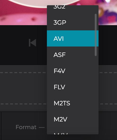 Convert MP3 to AVI