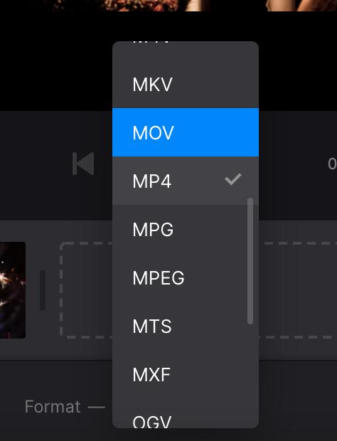 Change format of photo slideshow on Mac