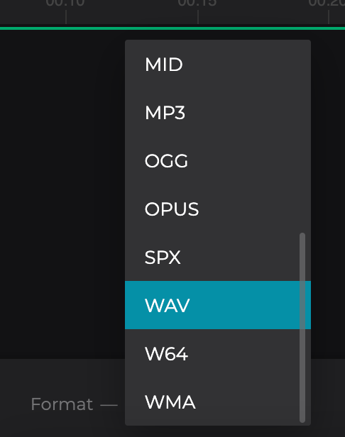 Convert Soundcloud to WAV