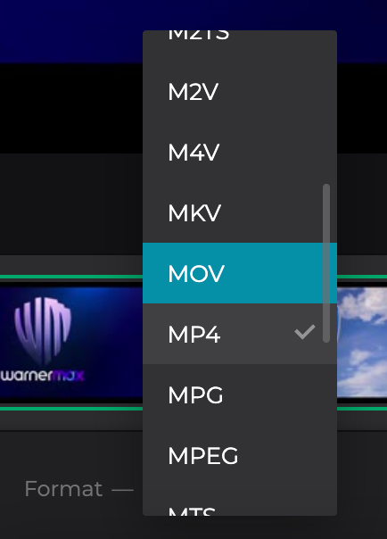 Turn YouTube to MOV