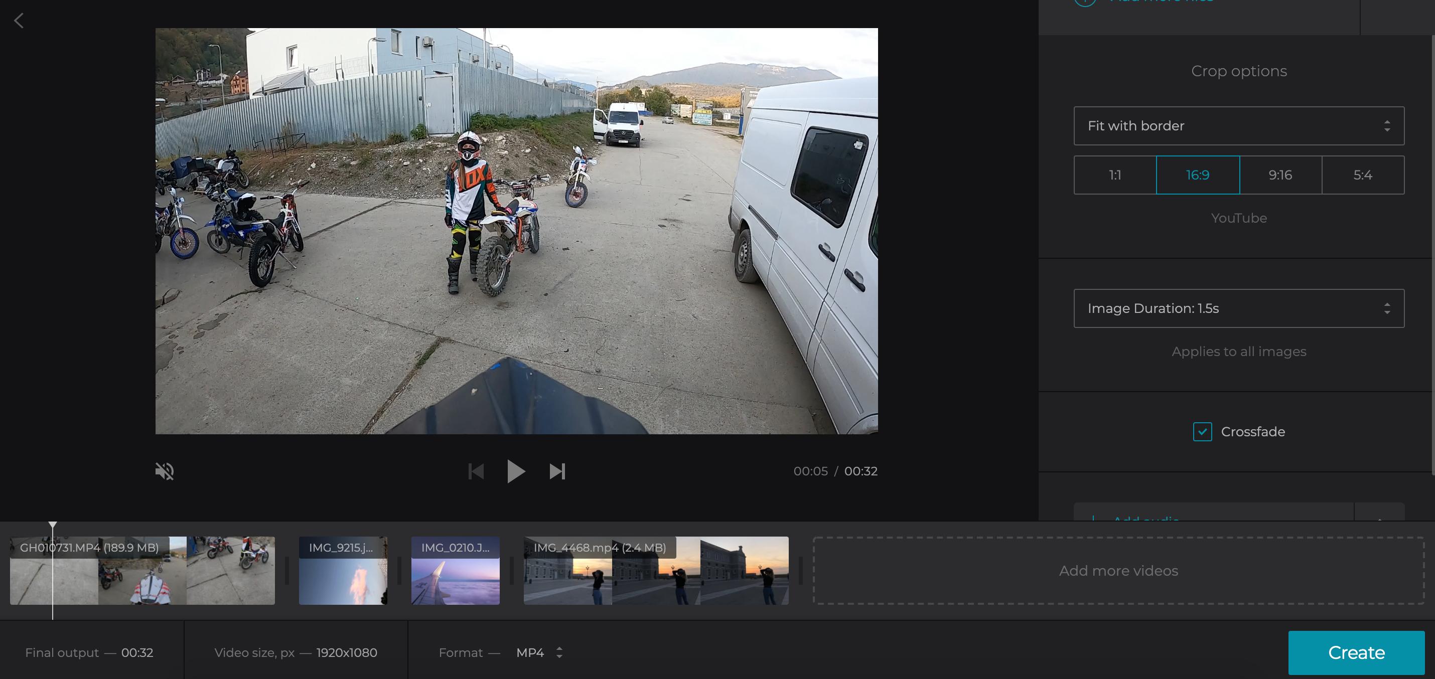 Create slideshow on Mac