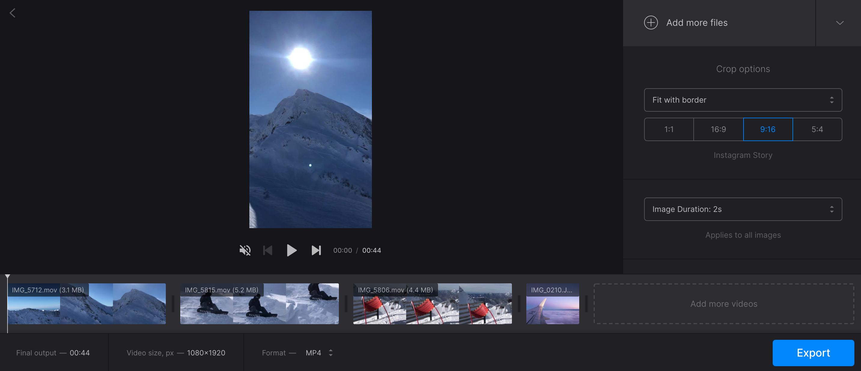 Make video in iMovie alternative for Windows