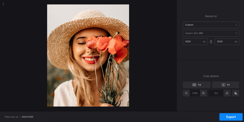 Resize and crop screenshot on Mac