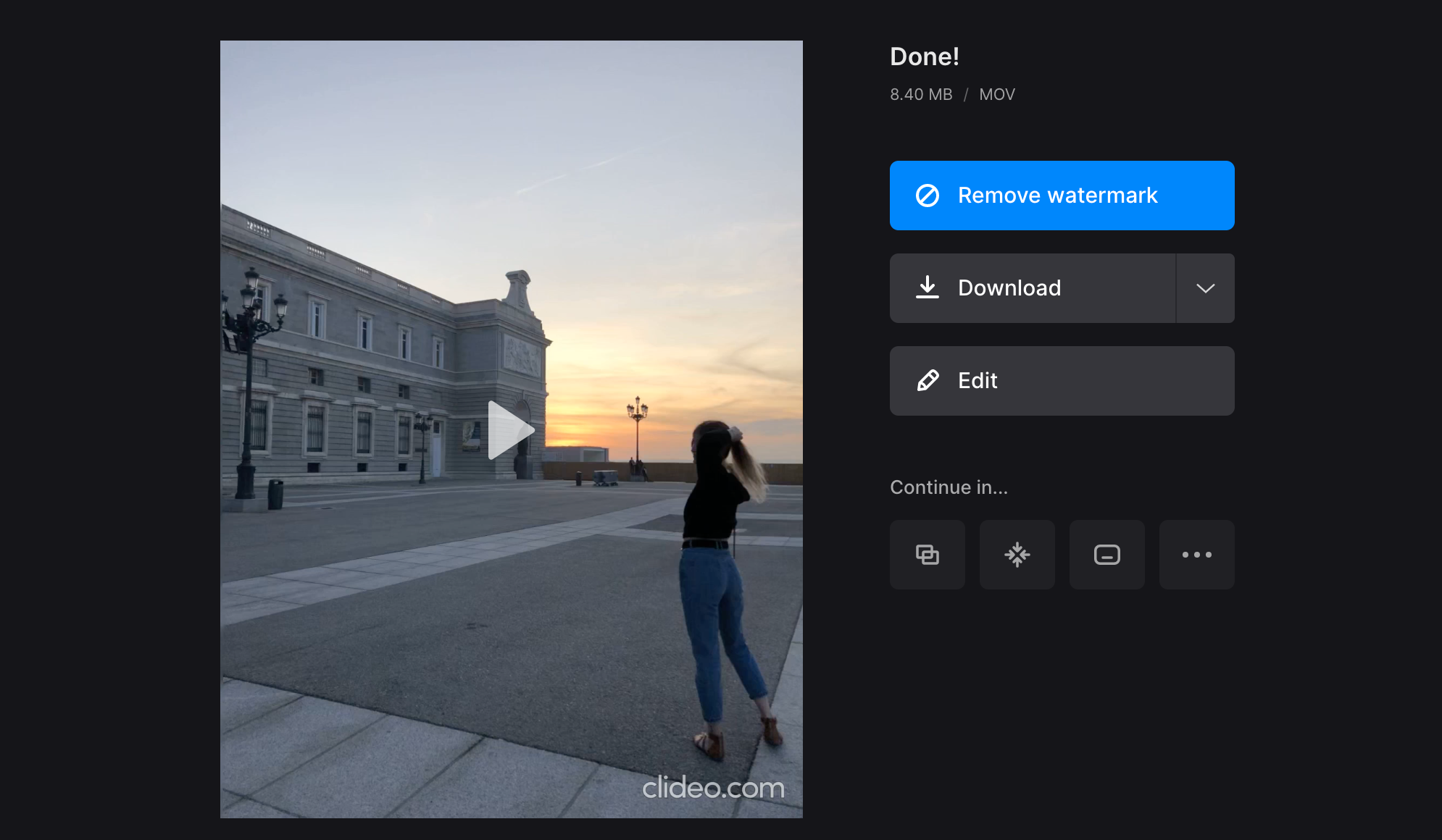 Download looped YouTube video