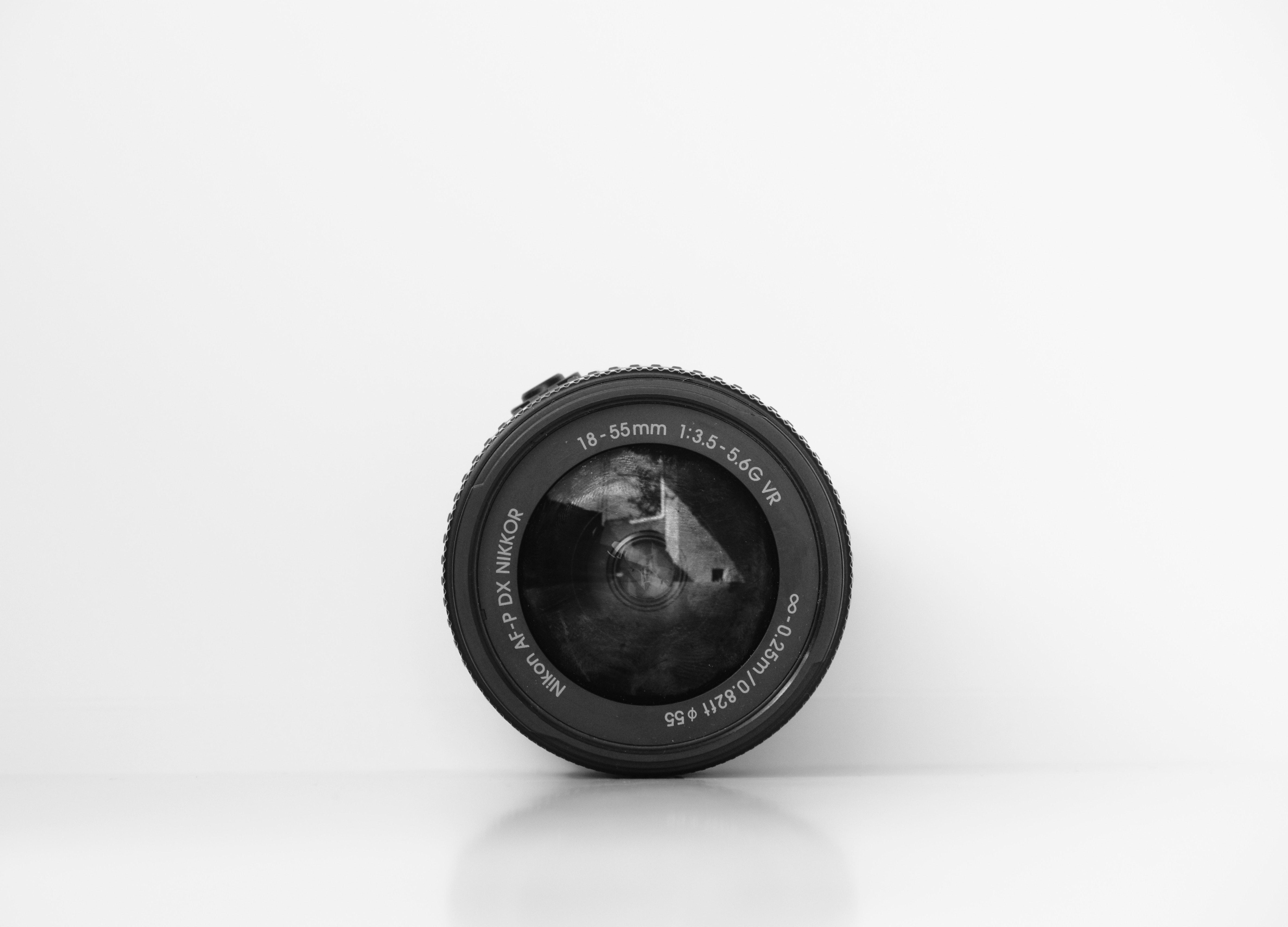How focal length looks on lens