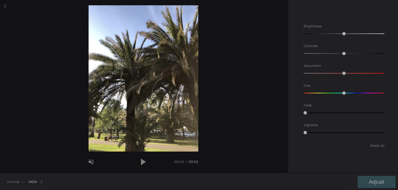 Make the uploaded video clearer online