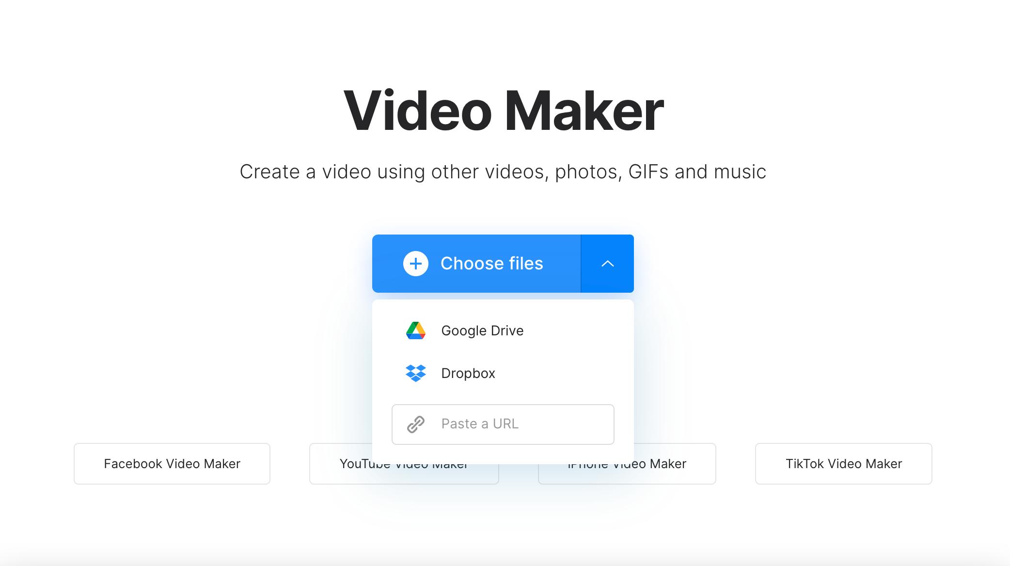 Open online iMovie equivalent for Windows