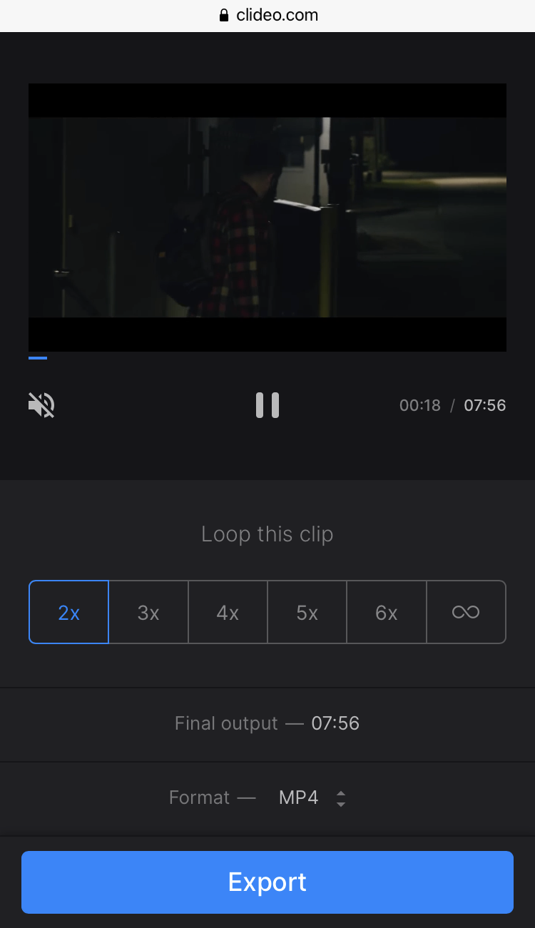 Repeat YouTube video on iPhone any number of times