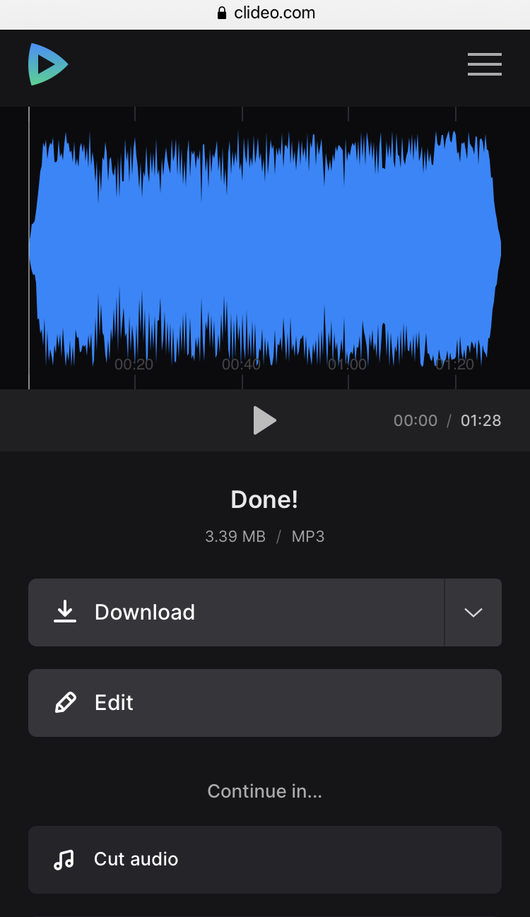 Download custom ringtone on Android