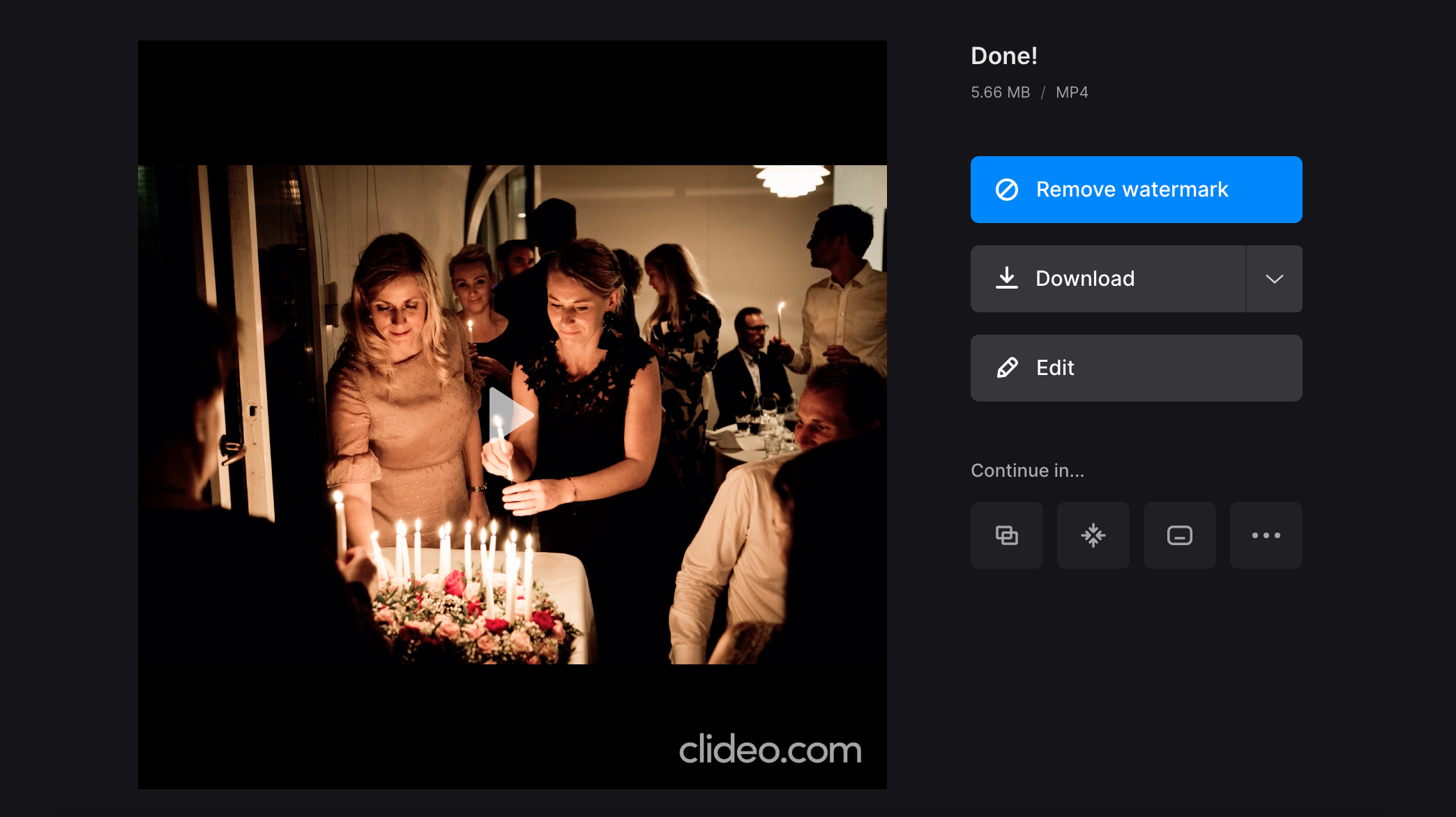 Download photo slideshow on Mac