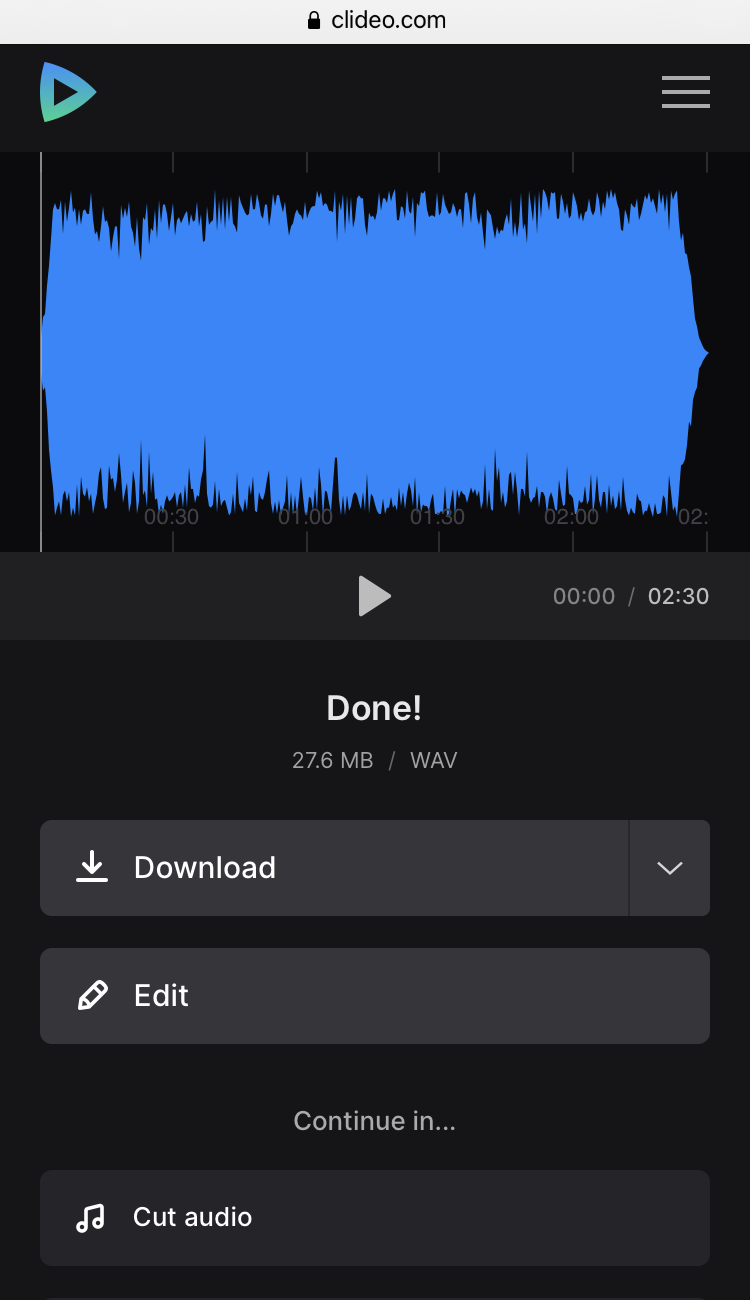 Download ringtone on iPhone