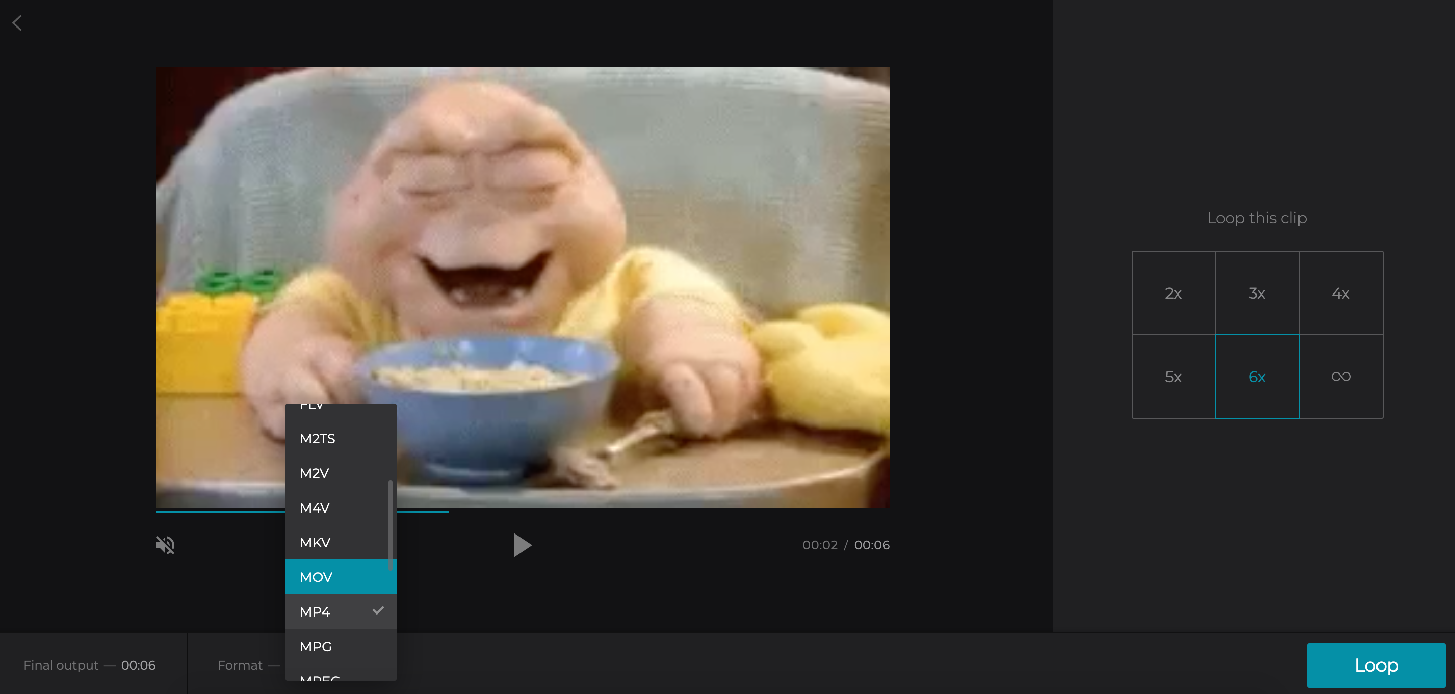 Download Twitter GIF as a video