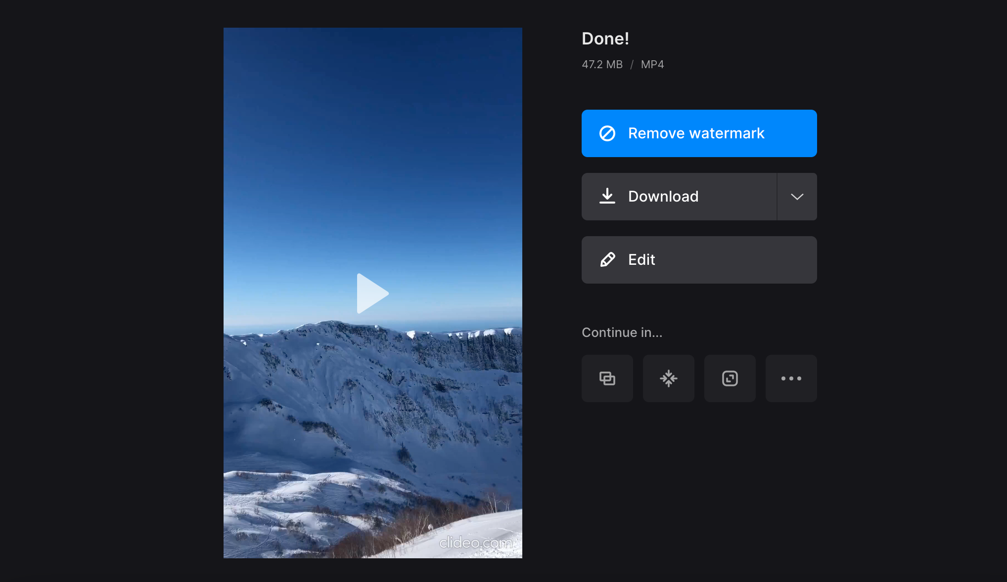 Save video from iMovie equivalent for Windows