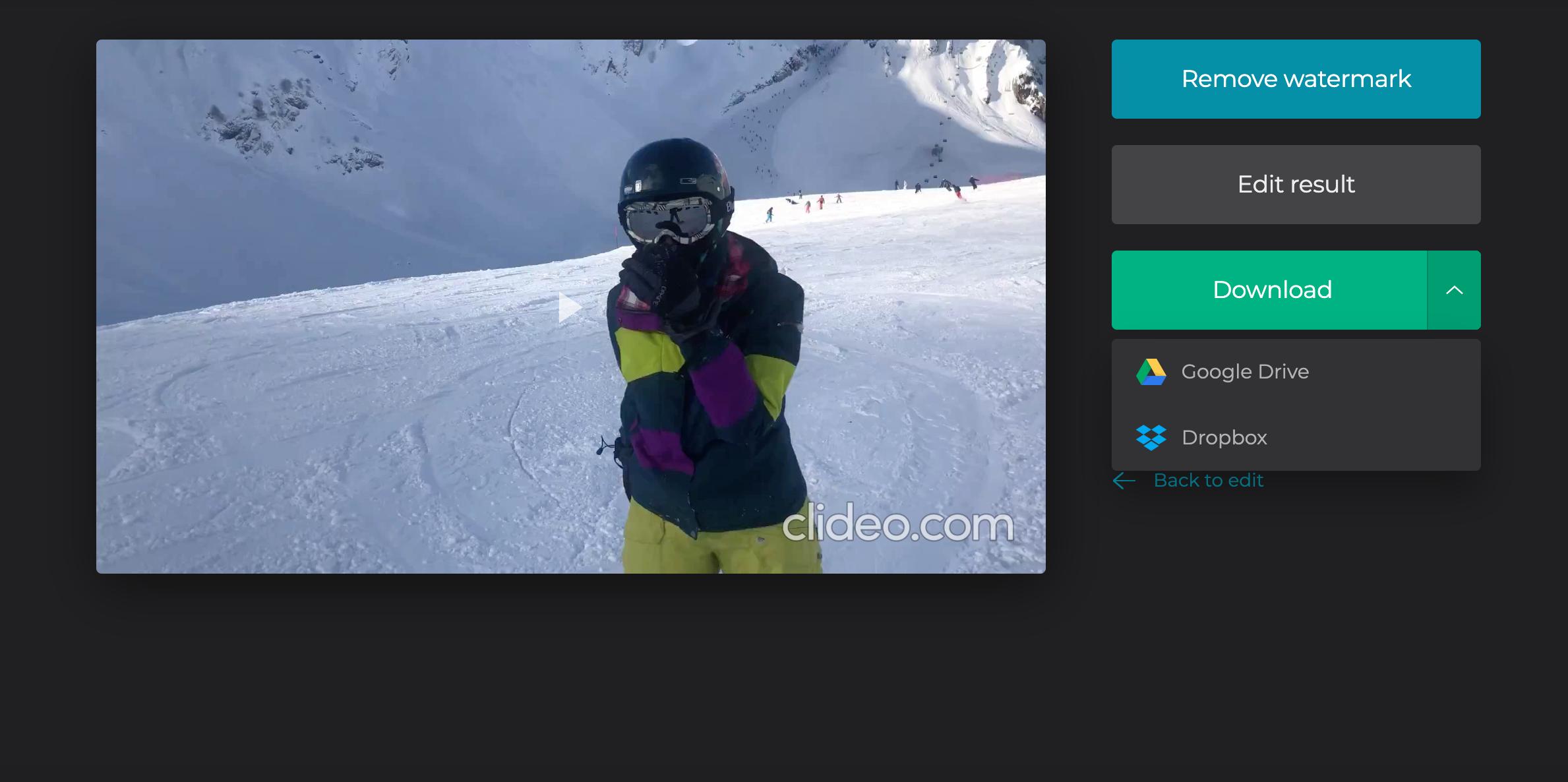 Download slideshow from YouTube Slideshow Creator