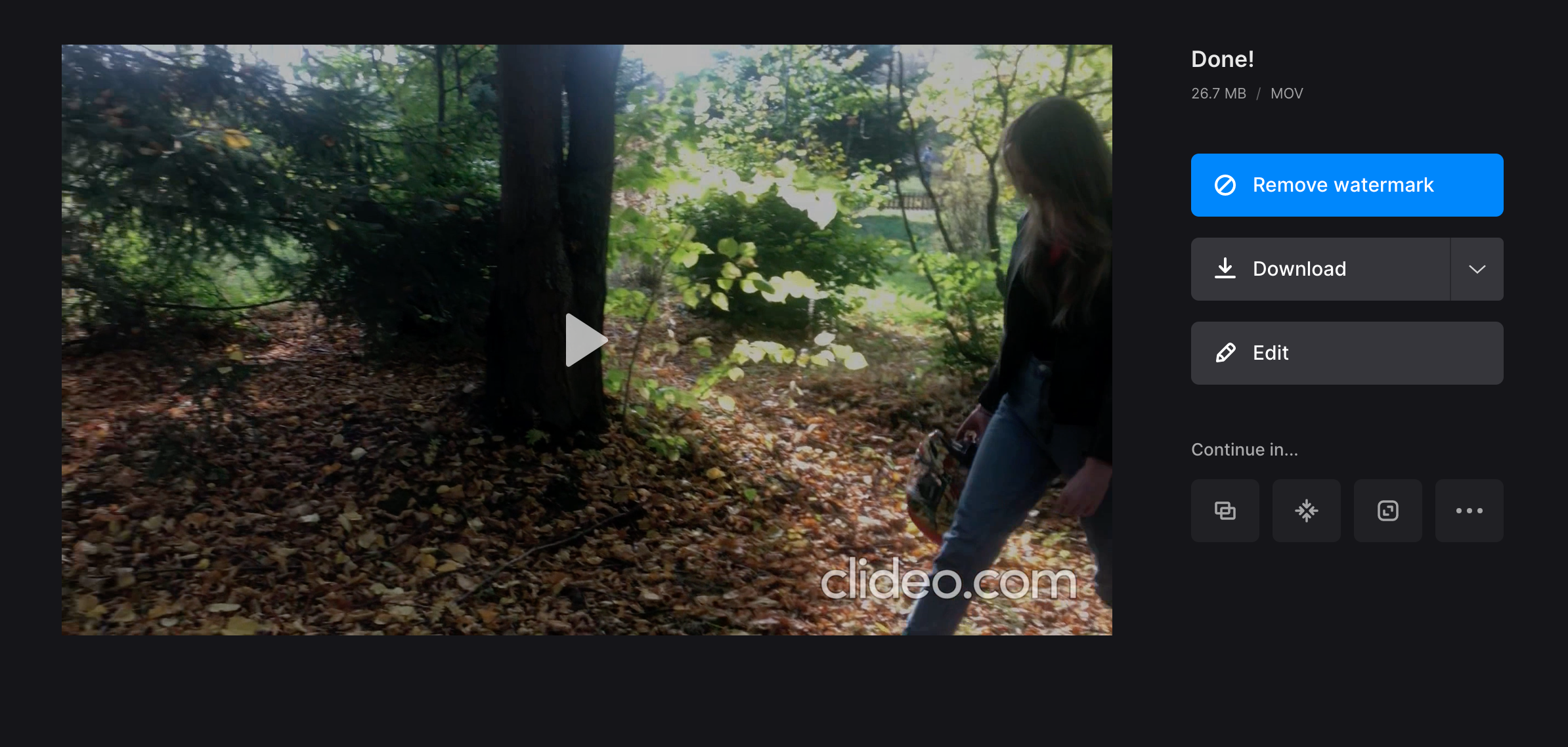 Download video with Instagram length