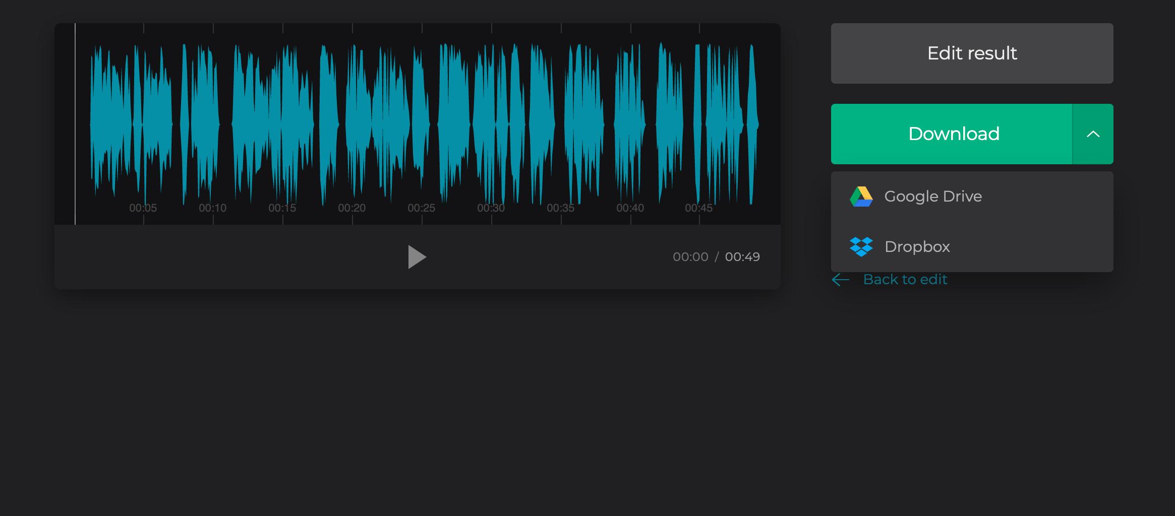 Download Soundcloud in WAV